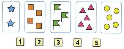 Математика 1 класс рабочая тетрадь Моро 1 часть страница 17 номер 1