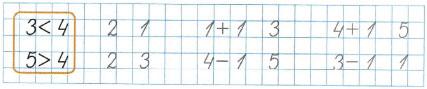 Математика 1 класс рабочая тетрадь Моро 1 часть страница 19 номер 3