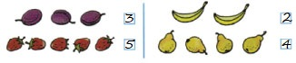 Ответ по Математике 1 класс рабочая тетрадь Моро 1 часть страница 20 номер 1