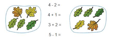 Математика 1 класс рабочая тетрадь Моро 1 часть страница 20 номер 4