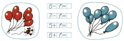 Математика 1 класс рабочая тетрадь Моро 1 часть страница 22 номер 1