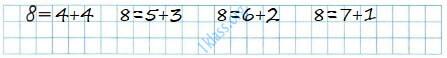 Математика 1 класс рабочая тетрадь Моро 2 часть страница 22 ответ