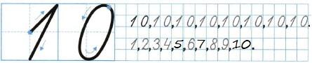 Ответ по Математике 1 класс рабочая тетрадь Моро 1 часть страница 23 номер 3