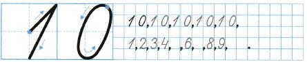 Математика 1 класс рабочая тетрадь Моро 1 часть страница 23 номер 3