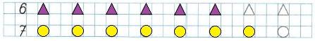 Ответ по Математике 1 класс рабочая тетрадь Моро 1 часть страница 23 номер 5