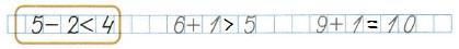Ответ по Математике 1 класс рабочая тетрадь Моро 1 часть страница 26 номер 1