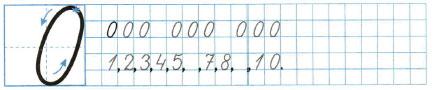 Математика 1 класс рабочая тетрадь Моро 1 часть страница 26 номер 3