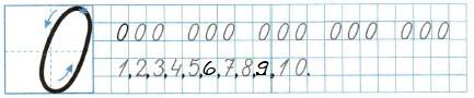 Ответ по Математике 1 класс рабочая тетрадь Моро 1 часть страница 26 номер 3