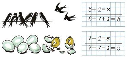 Ответ по Математике 1 класс рабочая тетрадь Моро 1 часть страница 31 номер 1
