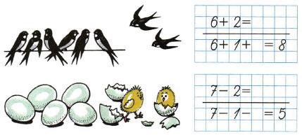 Математика 1 класс рабочая тетрадь Моро 1 часть страница 31 номер 1