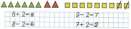 Ответ по Математике 1 класс рабочая тетрадь Моро 1 часть страница 31 номер 4