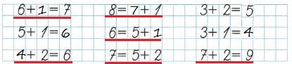 Ответ по Математике 1 класс рабочая тетрадь Моро 1 часть страница 32 номер 1
