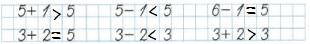 Ответ по Математике 1 класс рабочая тетрадь Моро 1 часть страница 32 номер 4