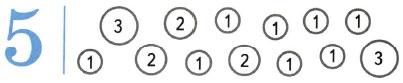 Математика 1 класс рабочая тетрадь Моро 1 часть страница 33 номер 3