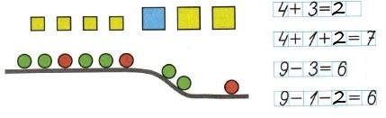 Ответ по Математике 1 класс рабочая тетрадь Моро 1 часть страница 38 номер 2