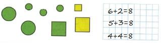 Ответ по Математике 1 класс рабочая тетрадь Моро 1 часть страница 39 номер 5