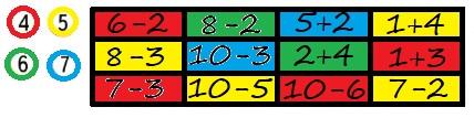 Ответ по Математике 1 класс рабочая тетрадь Моро 1 часть страница 40 номер 1