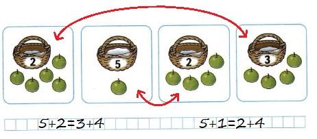 Ответ по Математике 1 класс рабочая тетрадь Моро 1 часть страница 40 номер 3