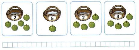 Математика 1 класс рабочая тетрадь Моро 1 часть страница 40 номер 3