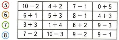 Математика 1 класс рабочая тетрадь Моро 1 часть страница 43 номер 6