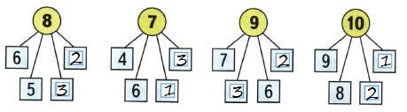Ответ по Математике 1 класс рабочая тетрадь Моро 1 часть страница 45 номер 1