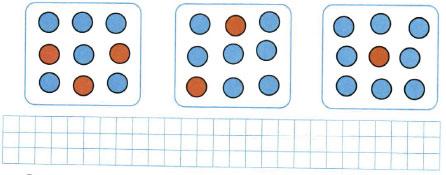 Математика 1 класс рабочая тетрадь Моро 1 часть страница 47 номер 1