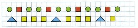 Ответ по Математике 1 класс рабочая тетрадь Моро 1 часть страница 47 номер 3
