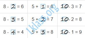 Математика 1 класс рабочая тетрадь Моро 2 часть страница 5 ответ
