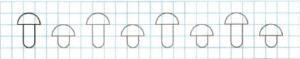 Математика 1 класс рабочая тетрадь Моро 1 часть страница 6 номер 2