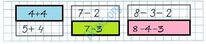 Математика 1 класс рабочая тетрадь Моро 2 часть страница 6 ответ