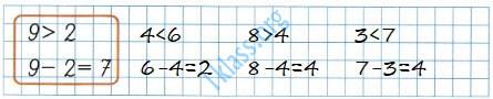 Математика 1 класс рабочая тетрадь Моро 2 часть страница 7 ответ