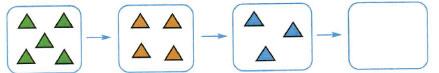 Математика 1 класс рабочая тетрадь Моро 1 часть страница 8 номер 3