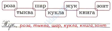 Русский язык 1 класс рабочая тетрадь Канакина страница 10 - упражнение 1