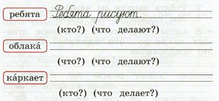 Русский язык 2 класс рабочая тетрадь Канакина 1 часть страница 13 упражнение 24