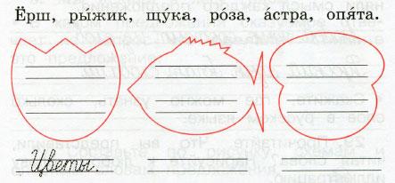 Русский язык 2 класс рабочая тетрадь Канакина 1 часть страница 16 упражнение 30