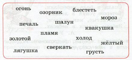 Русский язык 2 класс рабочая тетрадь Канакина 1 часть страница 20 упражнение 40