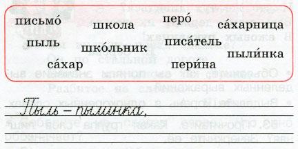 Русский язык 2 класс рабочая тетрадь Канакина 1 часть страница 25 упражнение 50