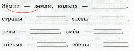 Русский язык 2 класс рабочая тетрадь Канакина 1 часть страница 29 упражнение 61