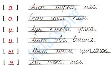 Русский язык 1 класс рабочая тетрадь Канакина страница 31 - упражнение 3
