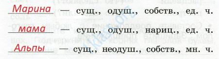 Русский язык 2 класс рабочая тетрадь Канакина 2 часть страница 33 - упражнение 72