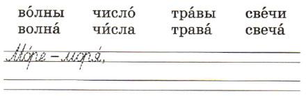 Русский язык 1 класс рабочая тетрадь Канакина страница 34