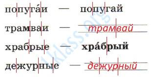 Русский язык 1 класс рабочая тетрадь Канакина страница 41 - упражнение 1