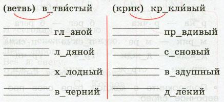 Русский язык 2 класс рабочая тетрадь Канакина 1 часть страница 42 упражнение 91