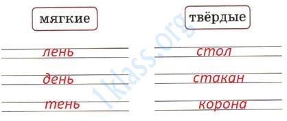 Русский язык 1 класс рабочая тетрадь Канакина страница 47 - упражнение 5