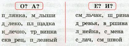Русский язык 2 класс рабочая тетрадь Канакина 1 часть страница 47 упражнение 100