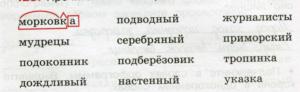 Русский язык 3 класс рабочая тетрадь Канакина 1 часть страница 51