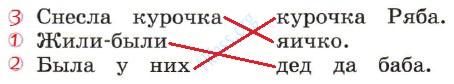 Русский язык 1 класс рабочая тетрадь Канакина страница 7 - упражнение 3