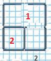Математика 1 класс учебник Моро 1 часть страница 101 задание 13-1