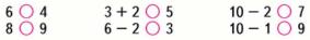 Математика 1 класс учебник Моро 1 часть страница 101 задание 10