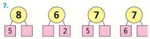Математика 1 класс учебник Моро 1 часть страница 113 задание 7